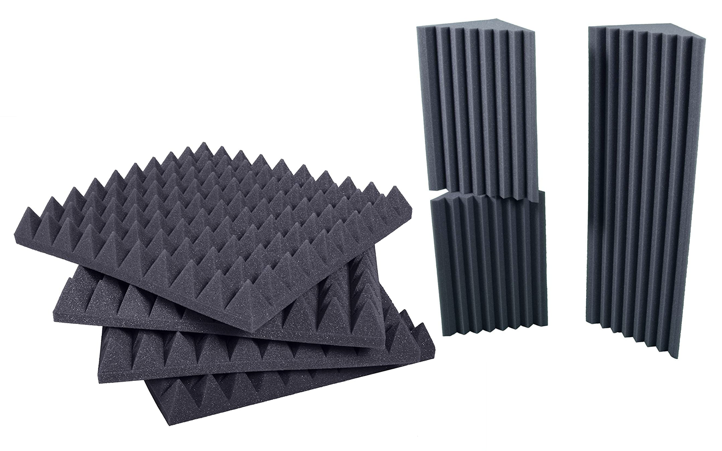 Sound absorbing panels and bass traps